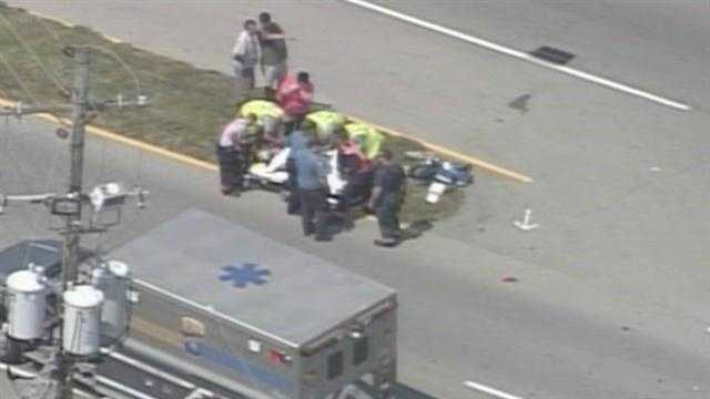 Motorcycle accident bardstown