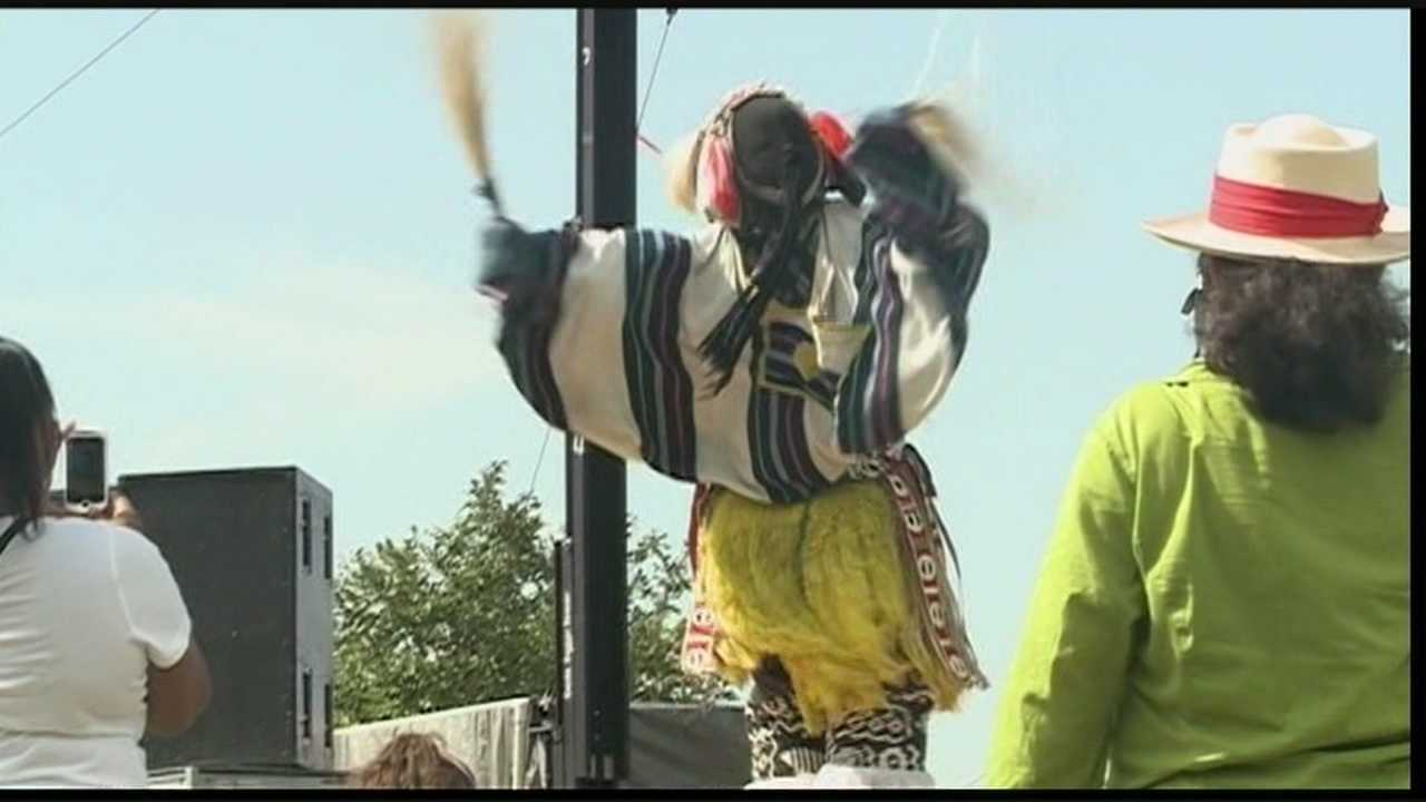 Thousands are expected at the Belvedere this weekend for Worldfest.