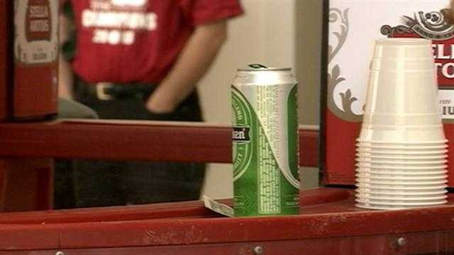 A letter sent to WLKY on Friday, signed by a concerned Louisville Metro Police officer, expresses concerns about underage drinking at Churchill Downs, especially during night racing.
