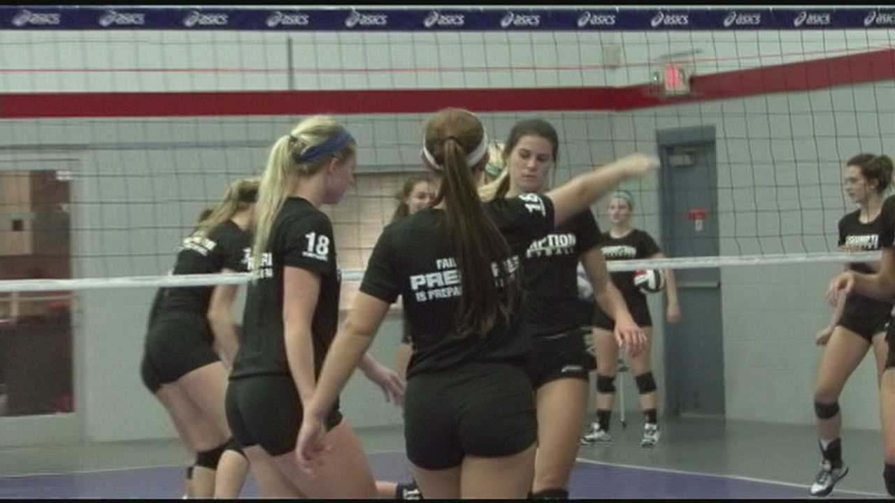 Family helps bring attention to Louisville for volleyball