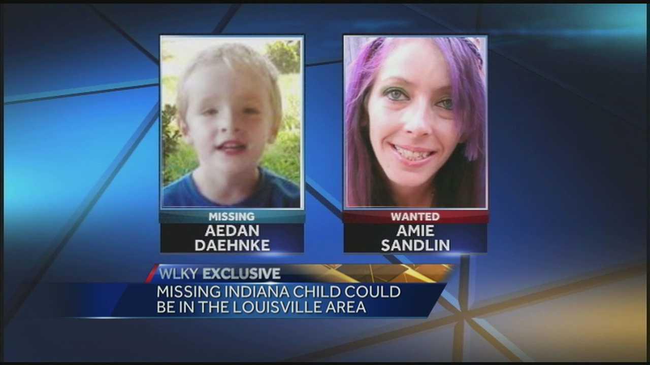 Police are searching for Amie Sandlin and Aedan Daehnke.
