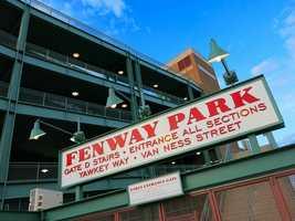 3. Fenway Park, Boston