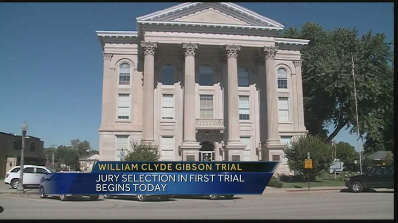 Jury selection began Monday in the first trial for a New Albany man accused of killing three women.