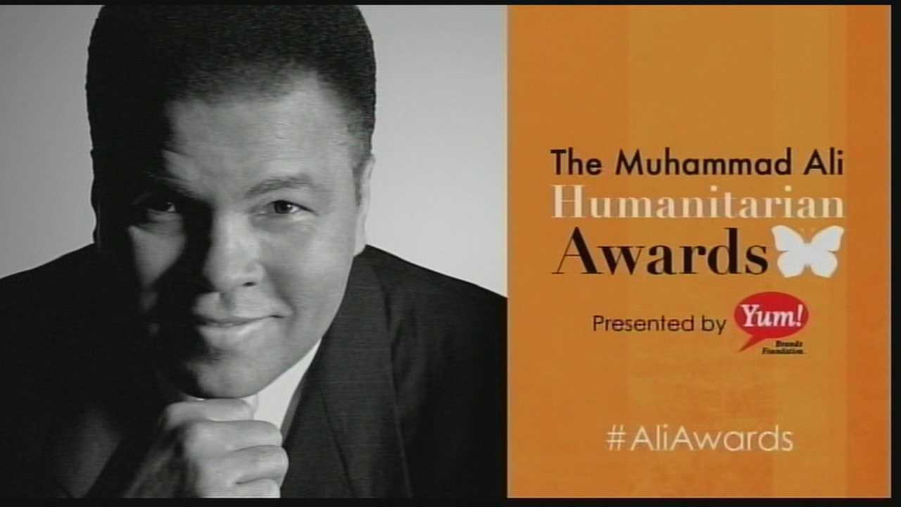 The inaugural Muhammad Ali Humanitarian Awards were held at the Galt House Thursday night.
