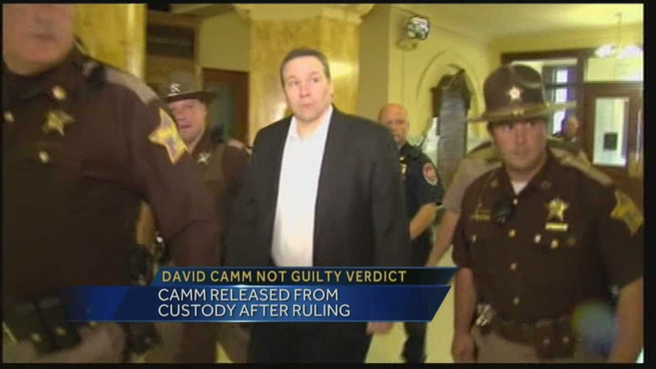 David Camm released after being found not guilty