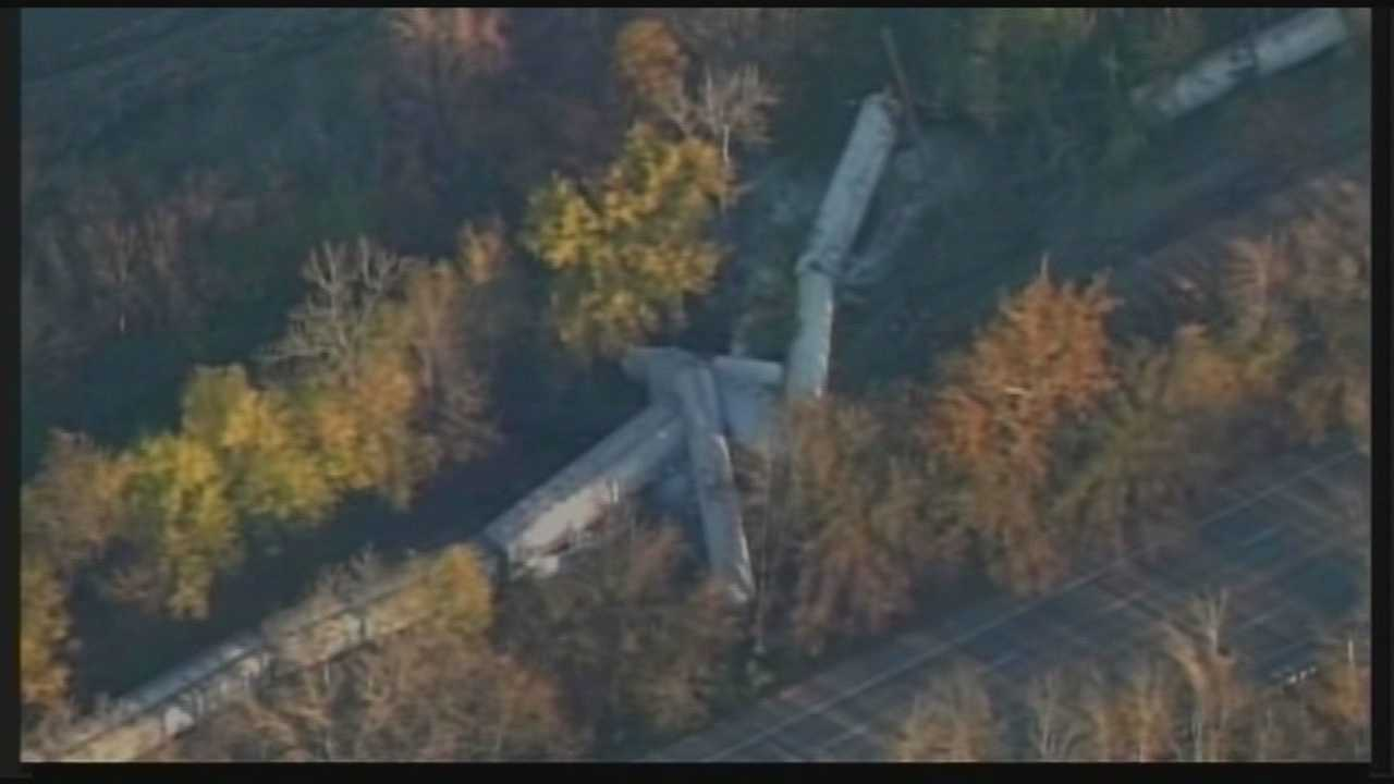 Southwest Jefferson County train derailment: 1 year later