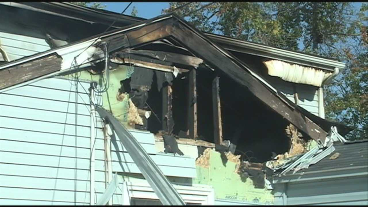 A family in Pleasure Ridge Park is picking up the pieces after a fallen tree limb sparked a house fire.