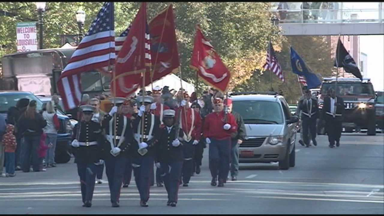 Louisville honors veterans in events across city