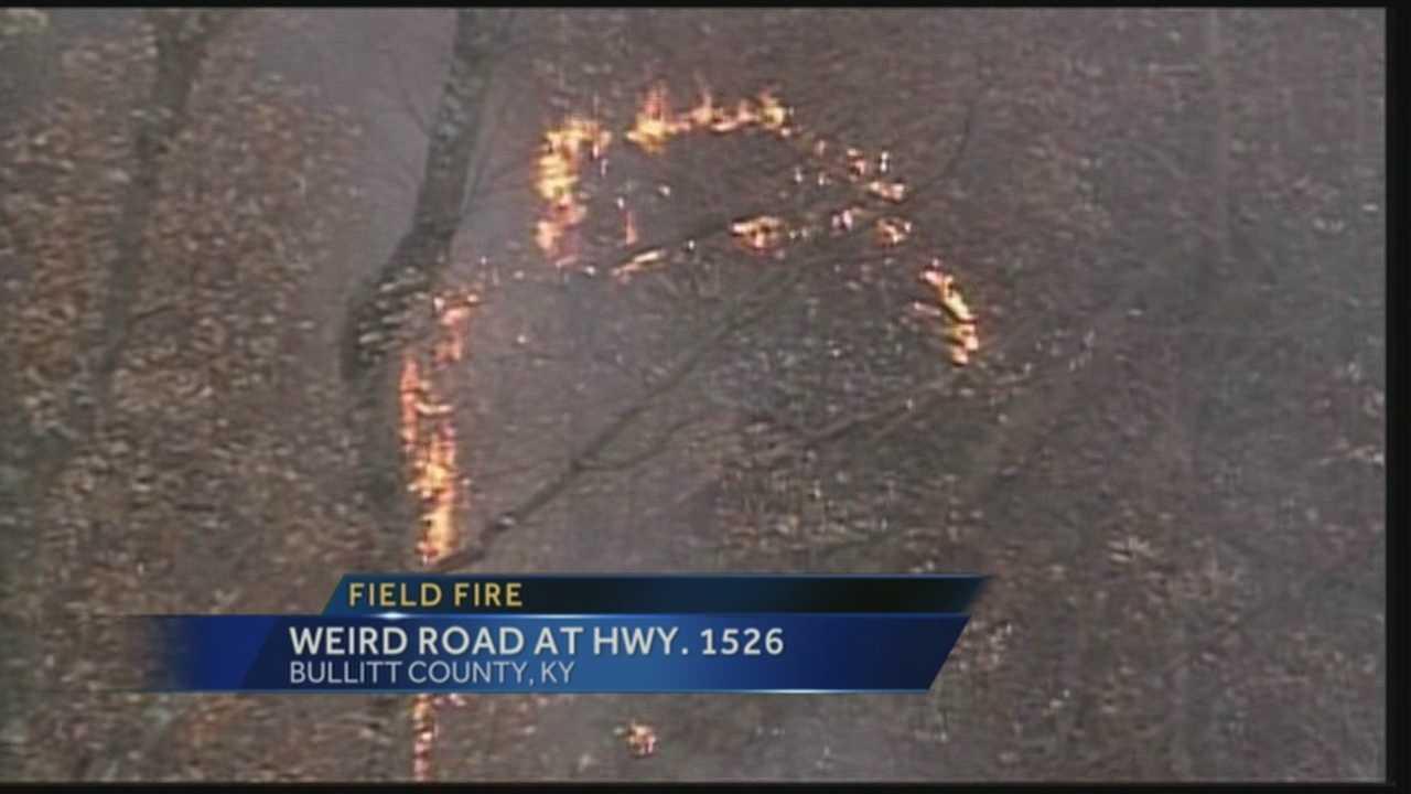 Bullitt County field fire