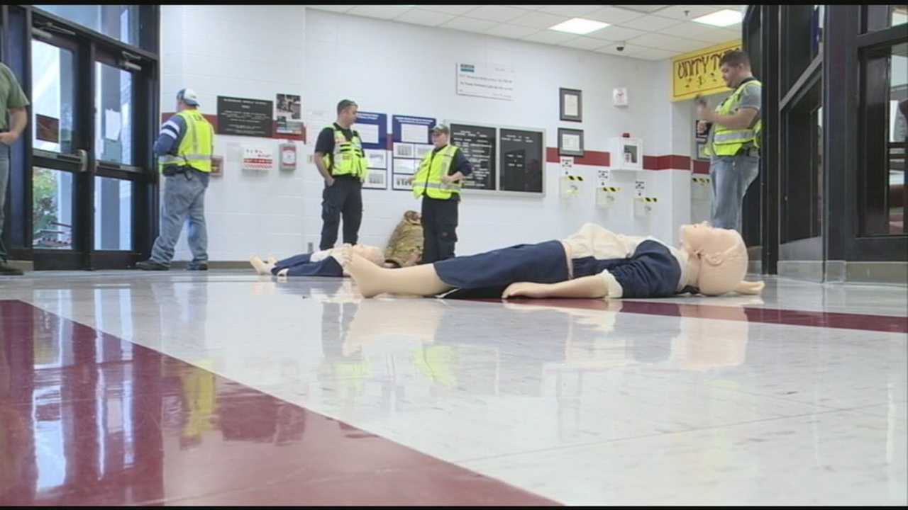 Radcliff school uses mock drill to prepare for catastrophe