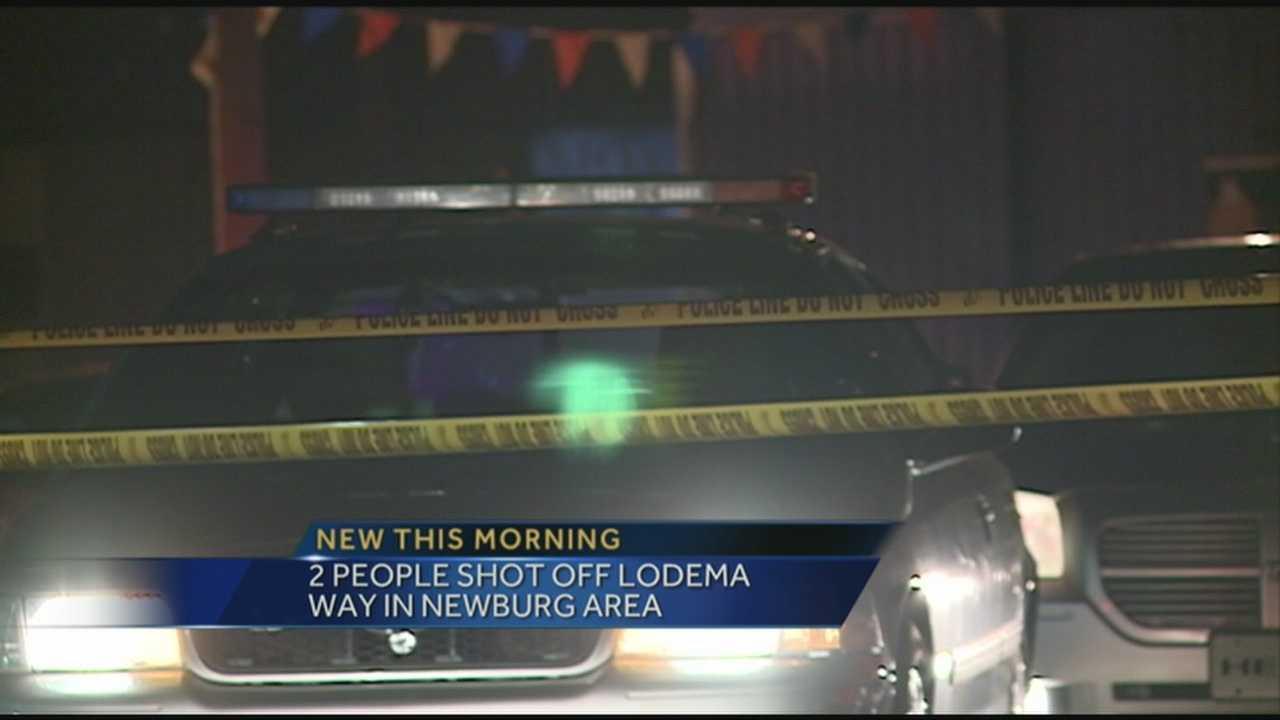 2 people shot in Newburg area