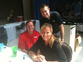 Jay, Susanne and Jared at the Kentucky State Fair