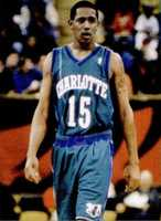 Percy Miller  in the NBA with the Charlotte Hornets