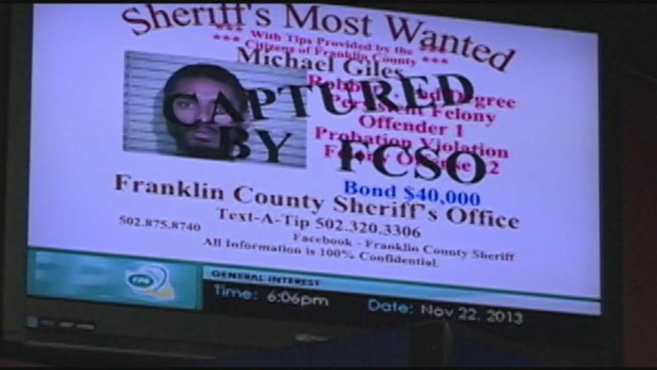 Fugitive arrested thanks to observant restaurant customer
