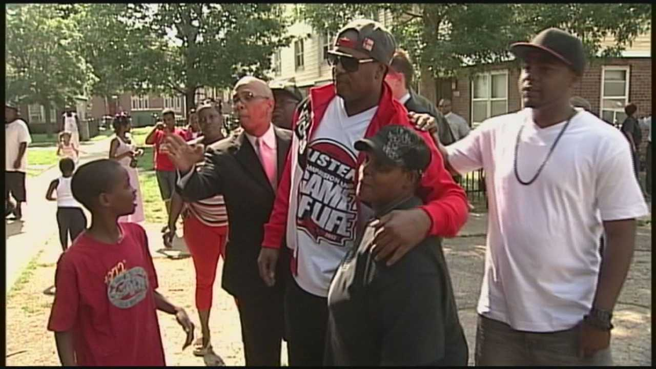 Well-known rapper working to curb violence in Louisville