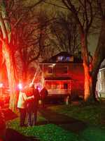 Fire breaks out Monday in the 2300 block of Glenmary Avenue