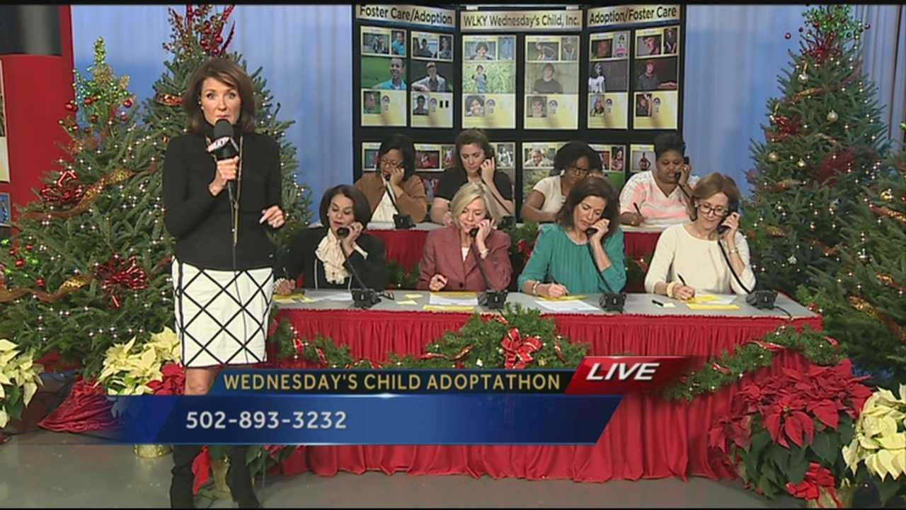 Nearly 4,000 children have found forever families through the Wednesday's Child program. Tonight, the 27th annual adoptaton will take place.
