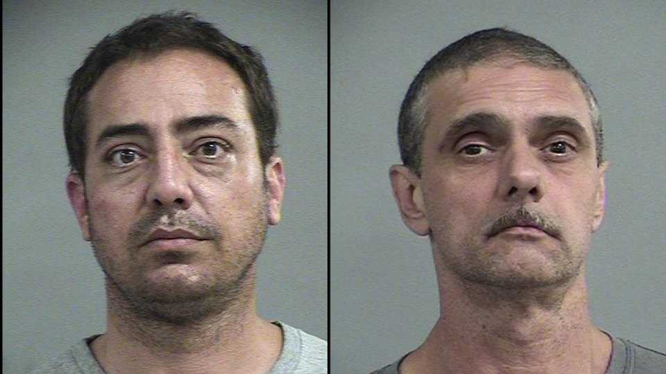"Kevin Michael Boyd and Thomas ""Eddie"" Davidson: Charged with robbery (READ MORE)"