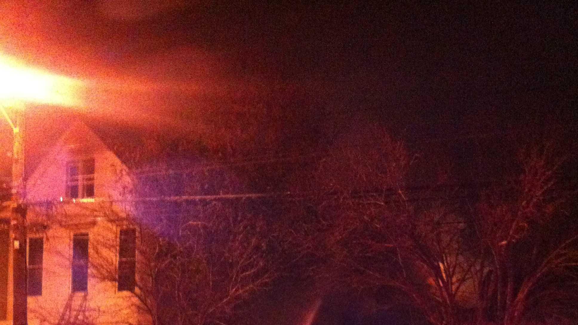 Baxter Ave. fire