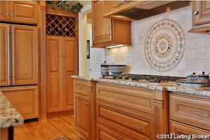 Incredible upgrades to the kitchen.