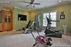 Possible home gym.