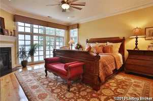 Master suite has the best view in the property!