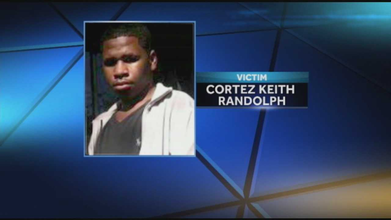Cortez Randolph was killed while waiting for the bus became Louisville's latest murder victim Monday night.