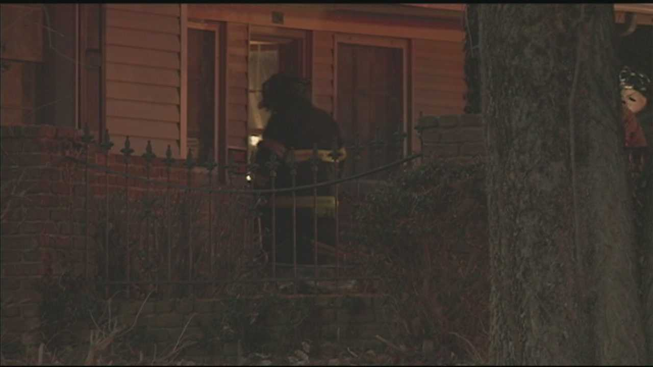 One person was rescued after a fire broke out at a home in Valley Station on Wednesday morning.