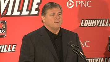 Tom Jurich introduces Bobby Petrino as new head coach of University of Louisville football