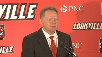 Bobby Petrino at introduction