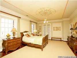 Generous master bedroom.
