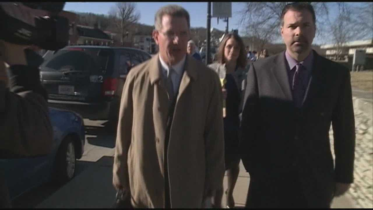 Former Kentucky Agriculture Commissioner Richie Farmer was sentenced to 27 months behind bars.