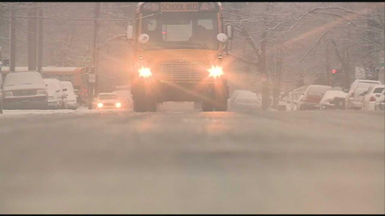 winter weather school bus jcps generic