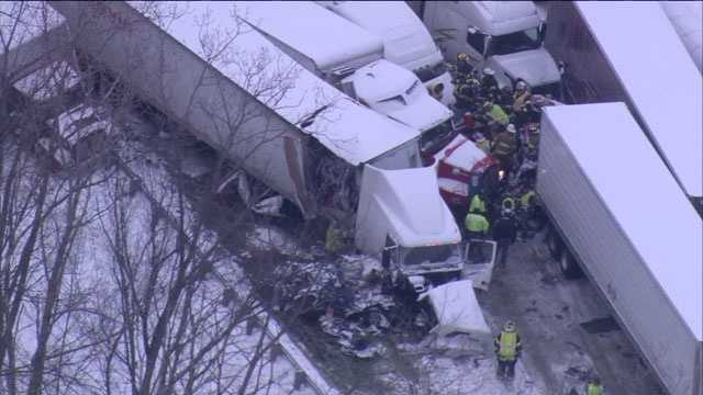 Indiana I-94 crash
