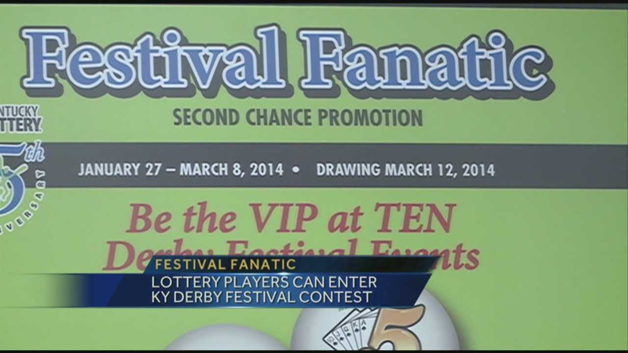 The Kentucky Derby Festival and the Kentucky Lottery have teamed up for a Derby Festival promotion.