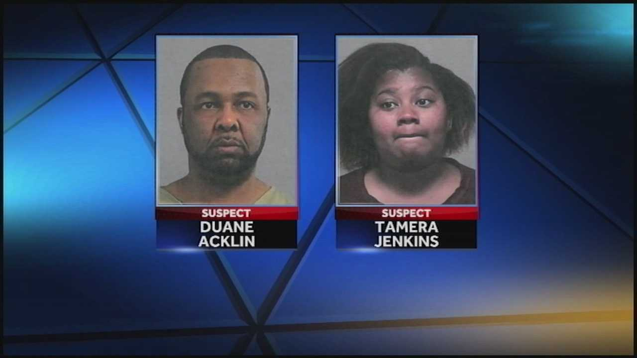 Police are looking for a couple they say stole from area day care centers.
