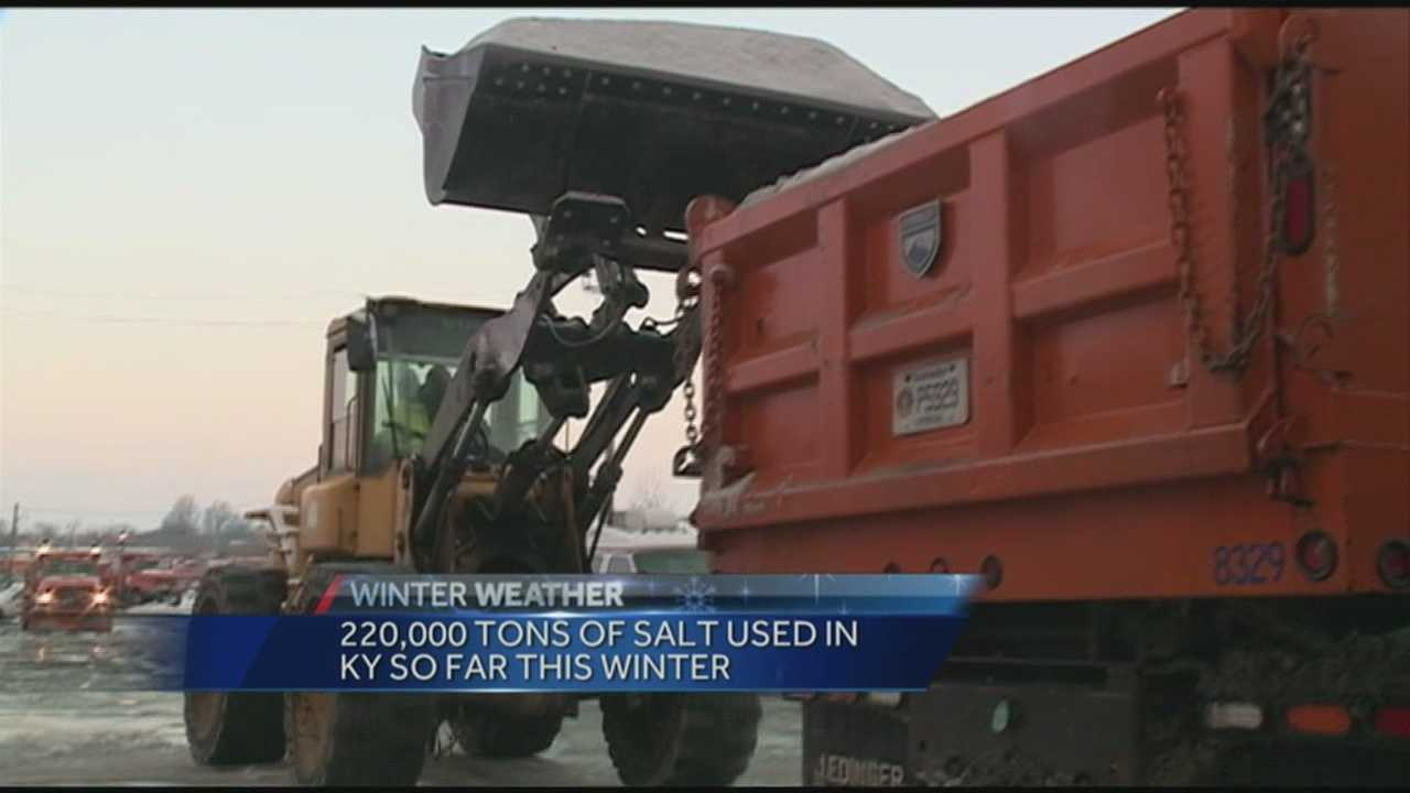 Crews hit the streets after snow covers