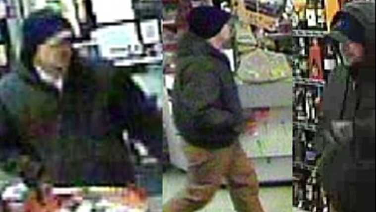 Man sought in Louisville gas station robbery