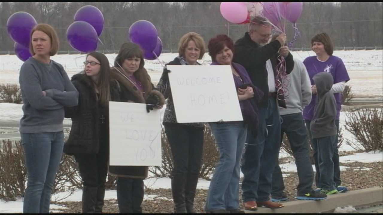 Community celebrates as Muhlenberg County fire victims return home