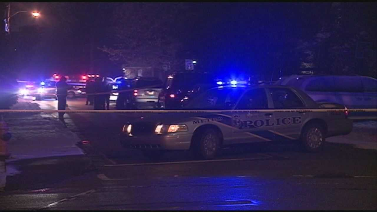 A man suspected in connection with 10 area robberies shot and killed himself late Saturday night.