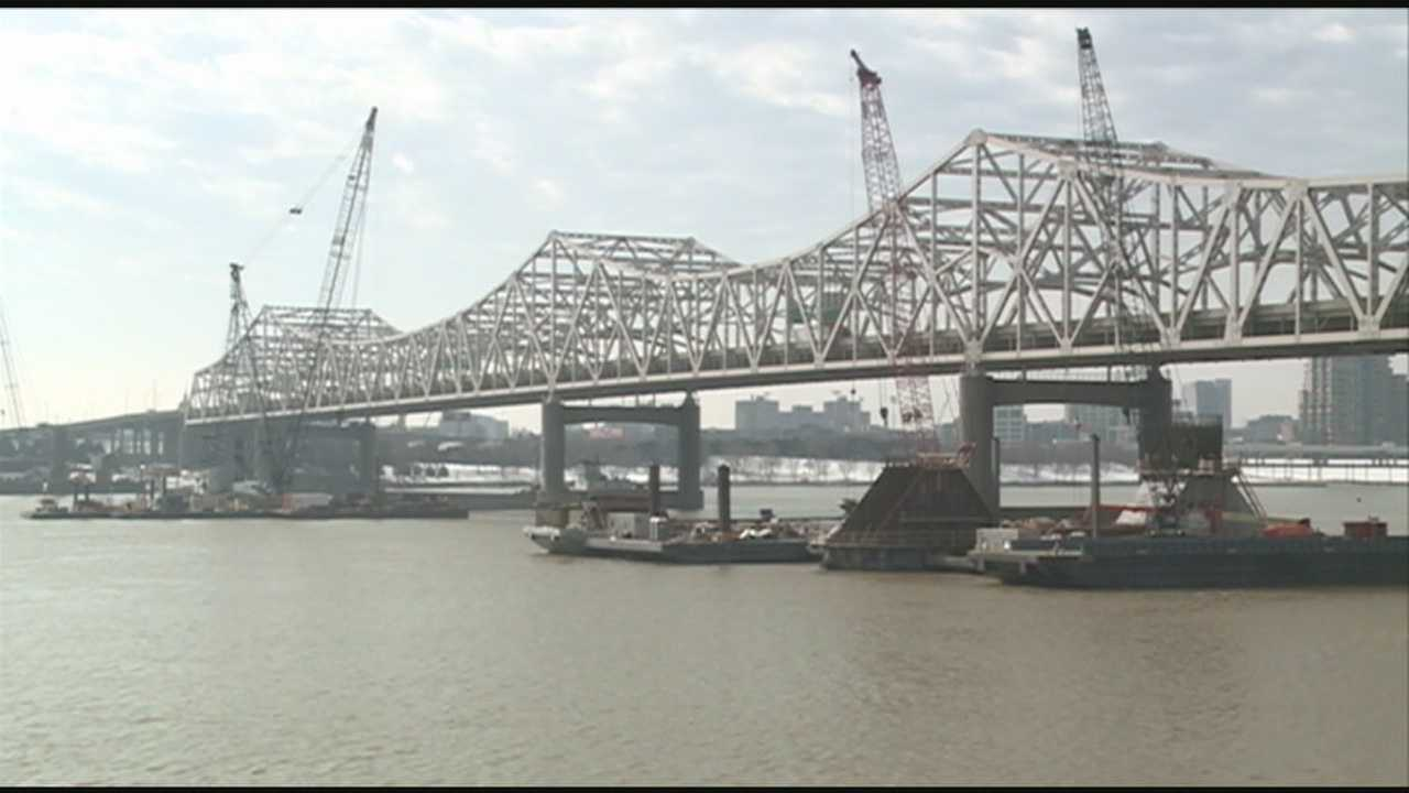 Construction begins on Indiana bridge approach