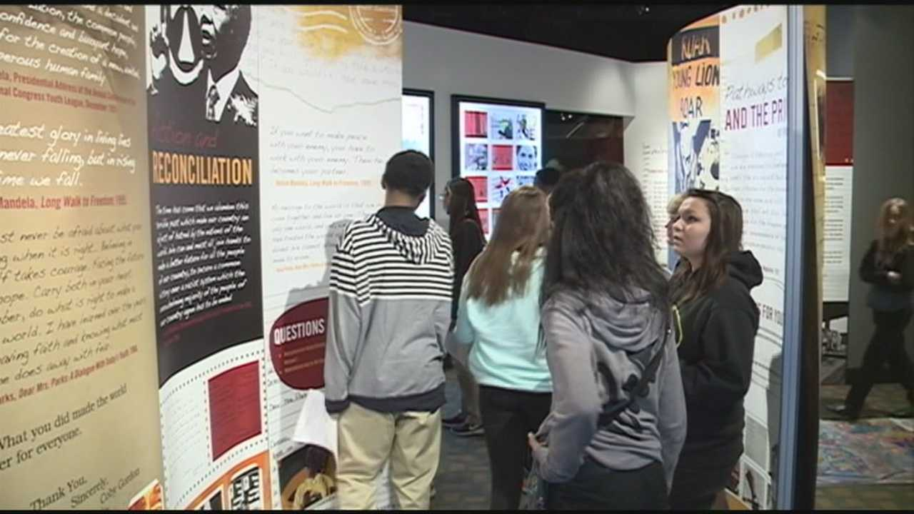 """The Muhammad Ali Center is hosting a temporary exhibit called """"Dear Mr. Mandela, Dear Mrs. Parks: Children's Letters Global Lessons"""" through the end of the month."""