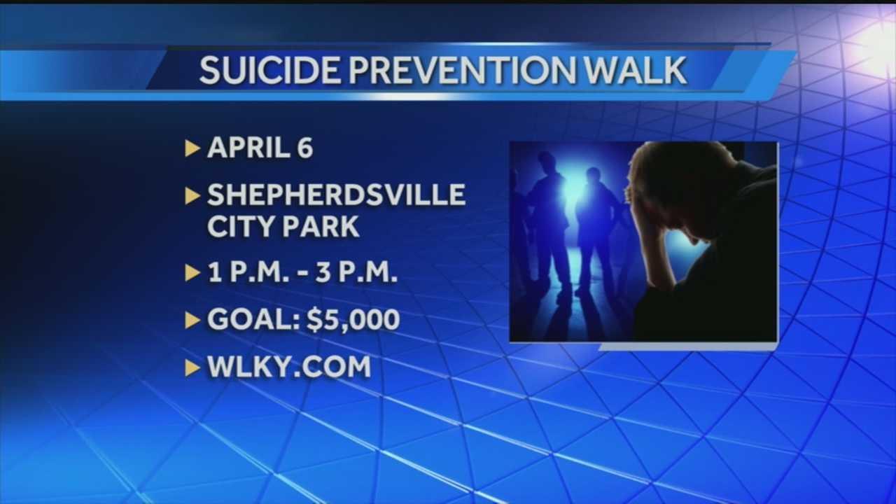 Teen organize suicide prevention walk
