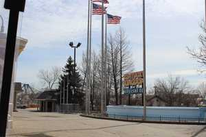 Images from the Kentucky Kingdom reopening project on Feb. 28, 2014.