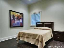 The basement also includes a private bedroom.