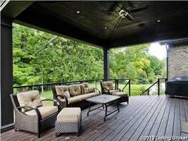 A relaxing deck.