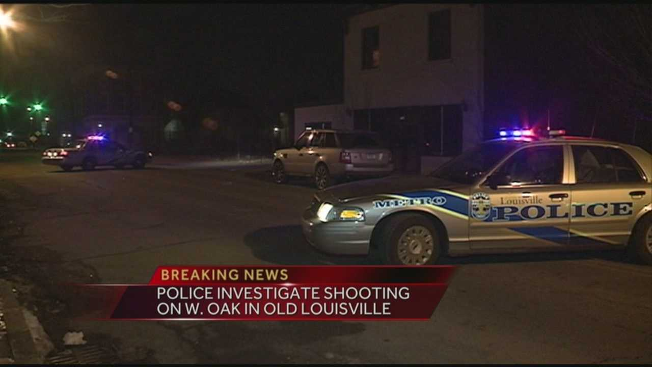 Police are investigating a shooting in Old Louisville.