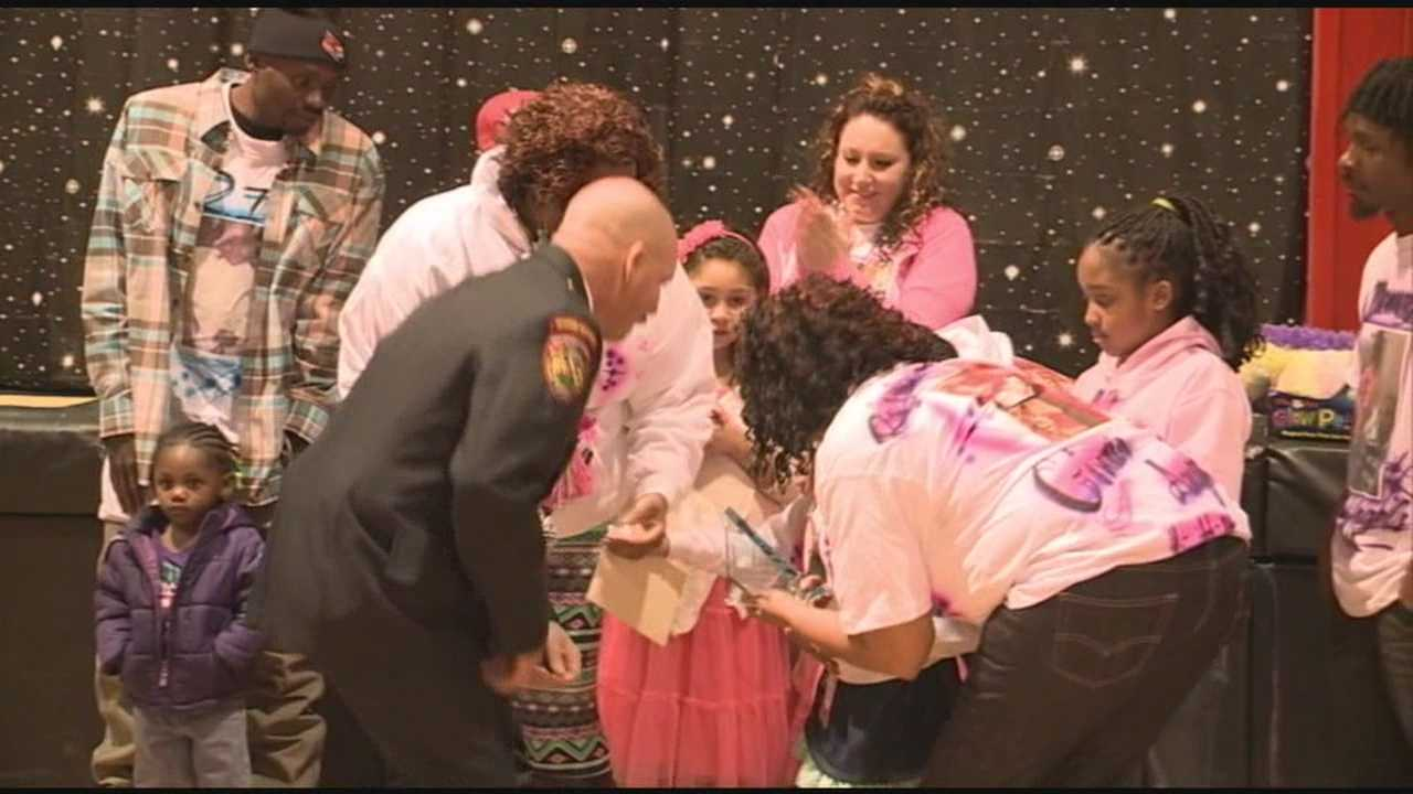House fire survivor celebrated with homecoming parade