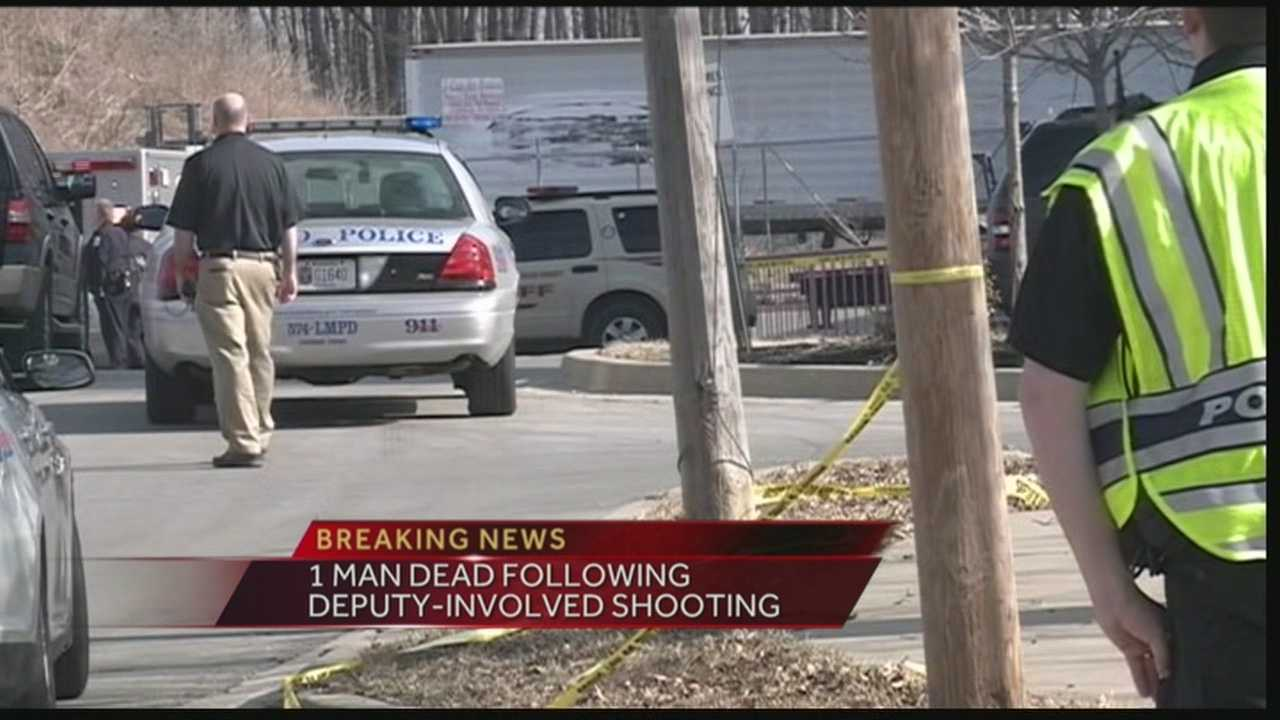 According to police, a man was shot and killed by sheriff's deputies after they tried to serve him with a warrant.