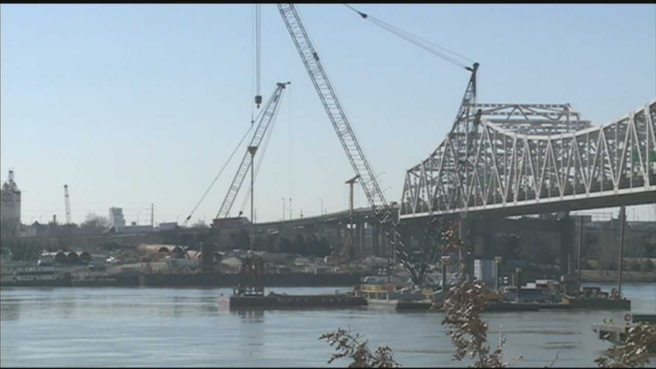Managers with the Ohio River Bridges Project are being transparent about the progress being made on the project so far.